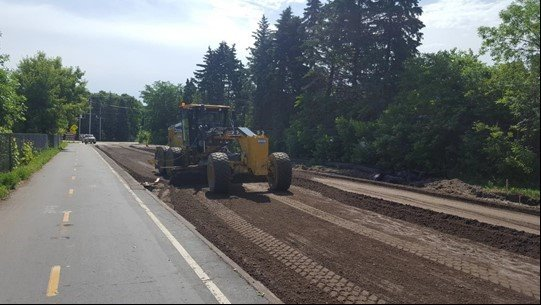 Shoreline Drive – Paving preparation