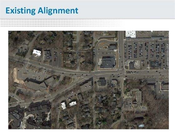 existing alignment