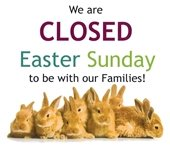 closed easter