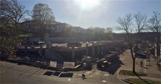 Mill Street Parking Structure progress (5-4-17)