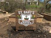 St. Bart's signage installed