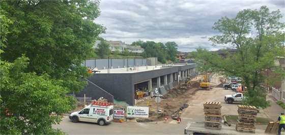 Mill Street Parking Structure (5-24-17)