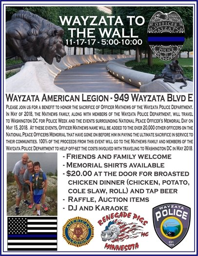 wayzata to the wall