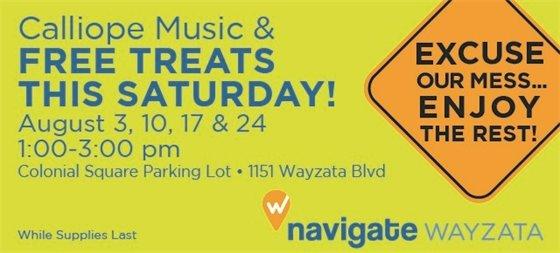 Free Treat Saturday