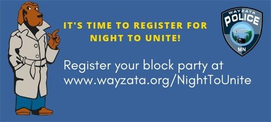Night to Unite Register
