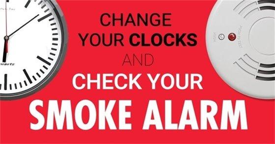 Check your smoke alarm