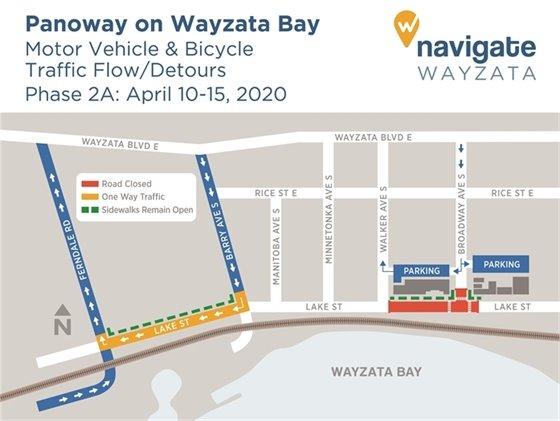 Phase 2A Detour Map