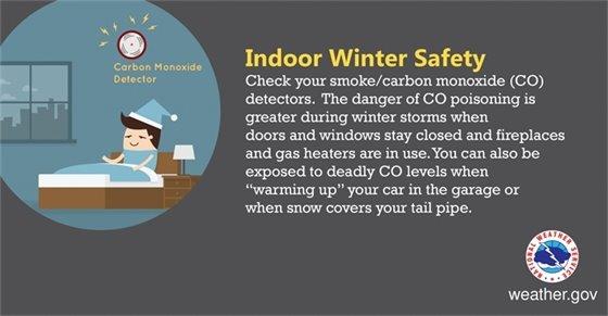 Indoor Winter Safety
