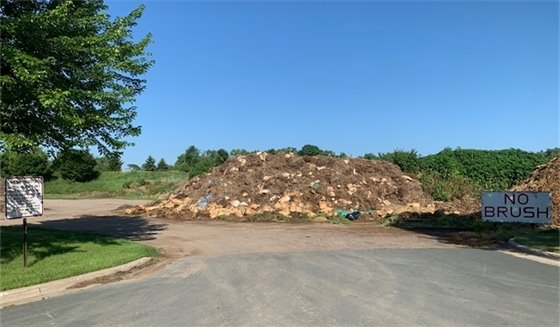 compost site at public works