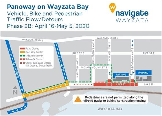 Vehicle, Bike and Ped Map 4/24/2020