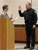 Deputy Chief Schultz Swearing In