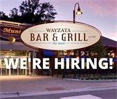 bar and grill hiring