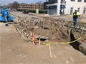Construction on Lake Street