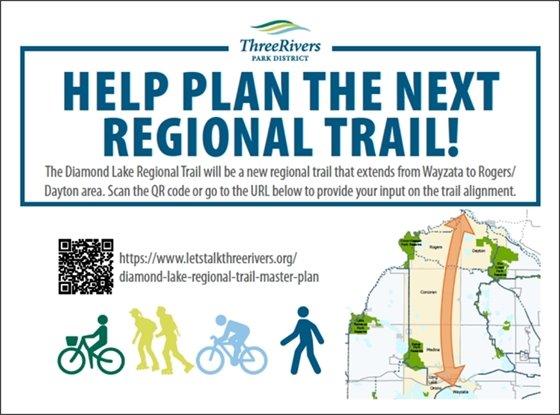 help plan the next regional trail