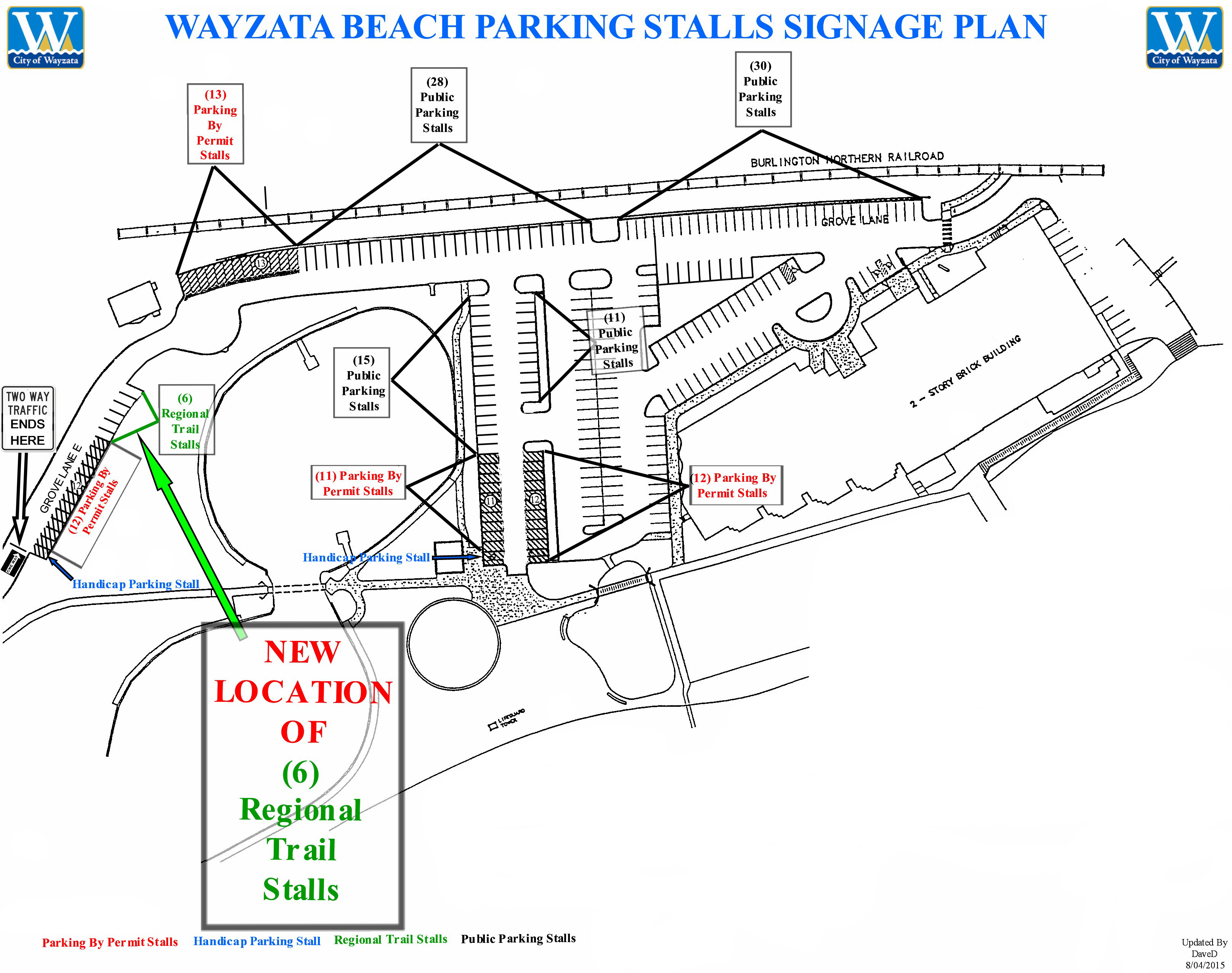 Updated 2015 Beach Parking Layout