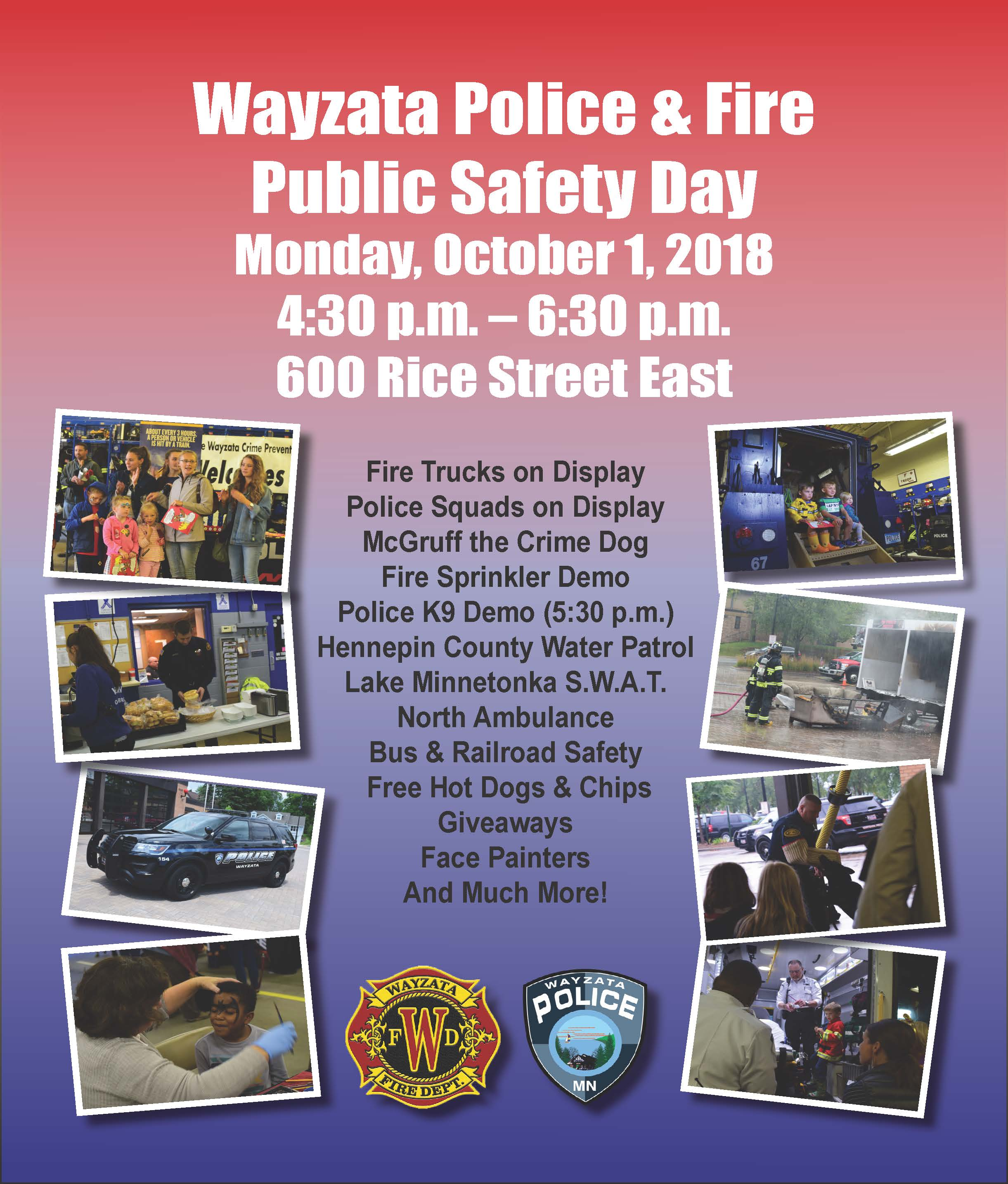 Public Safety Day 2018