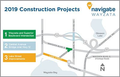Navigate Wayzata Construction Map