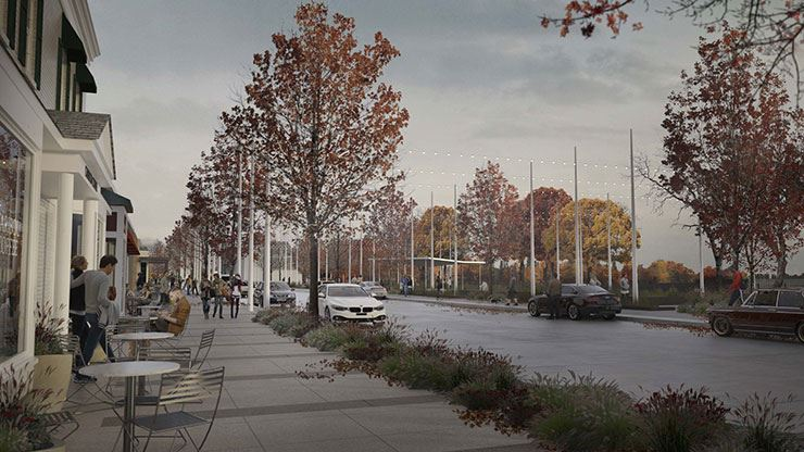 Lake Street Improvement Rendering