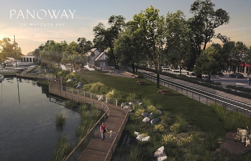 Boardwalk rendering